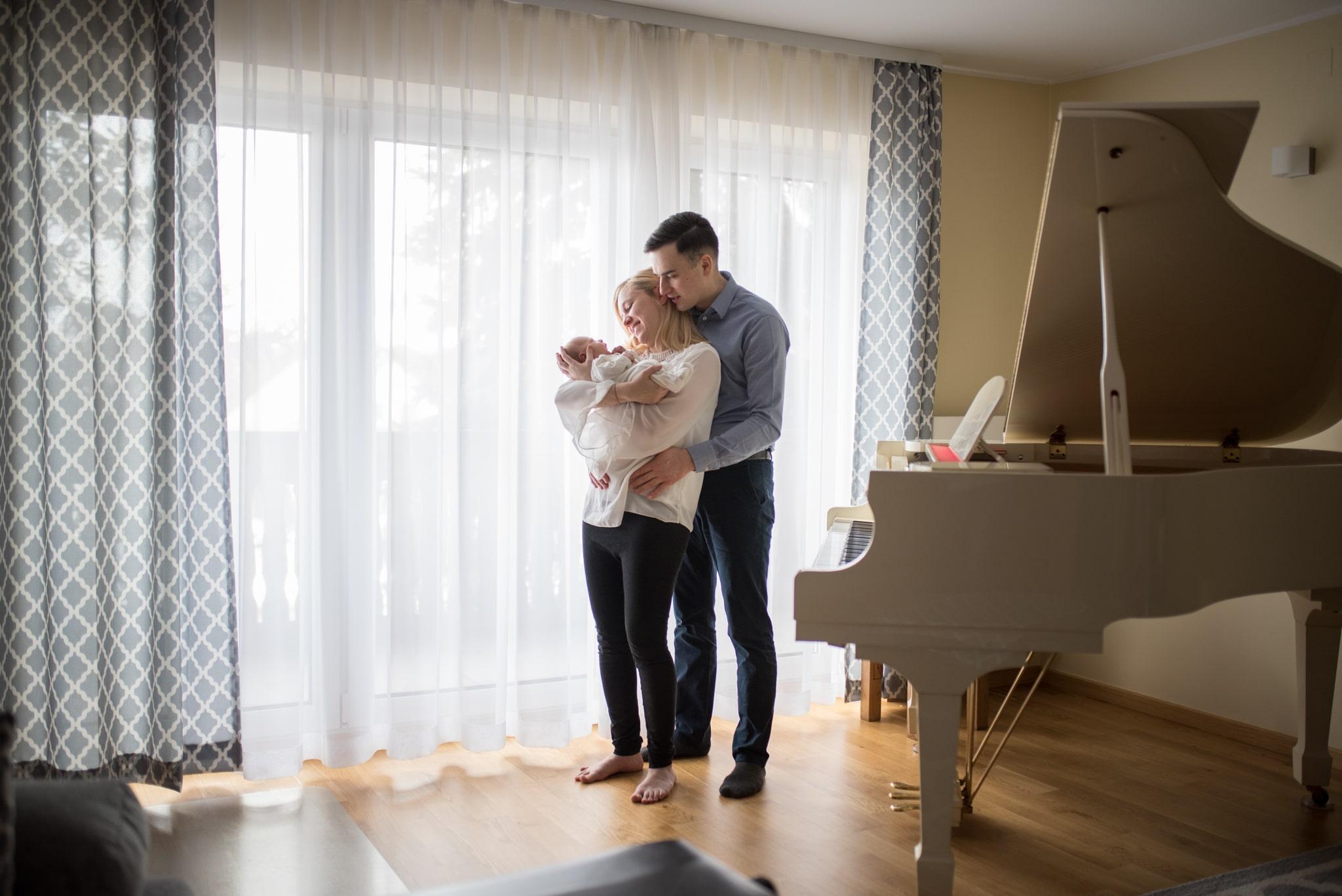 sesja noworodkowa w domu