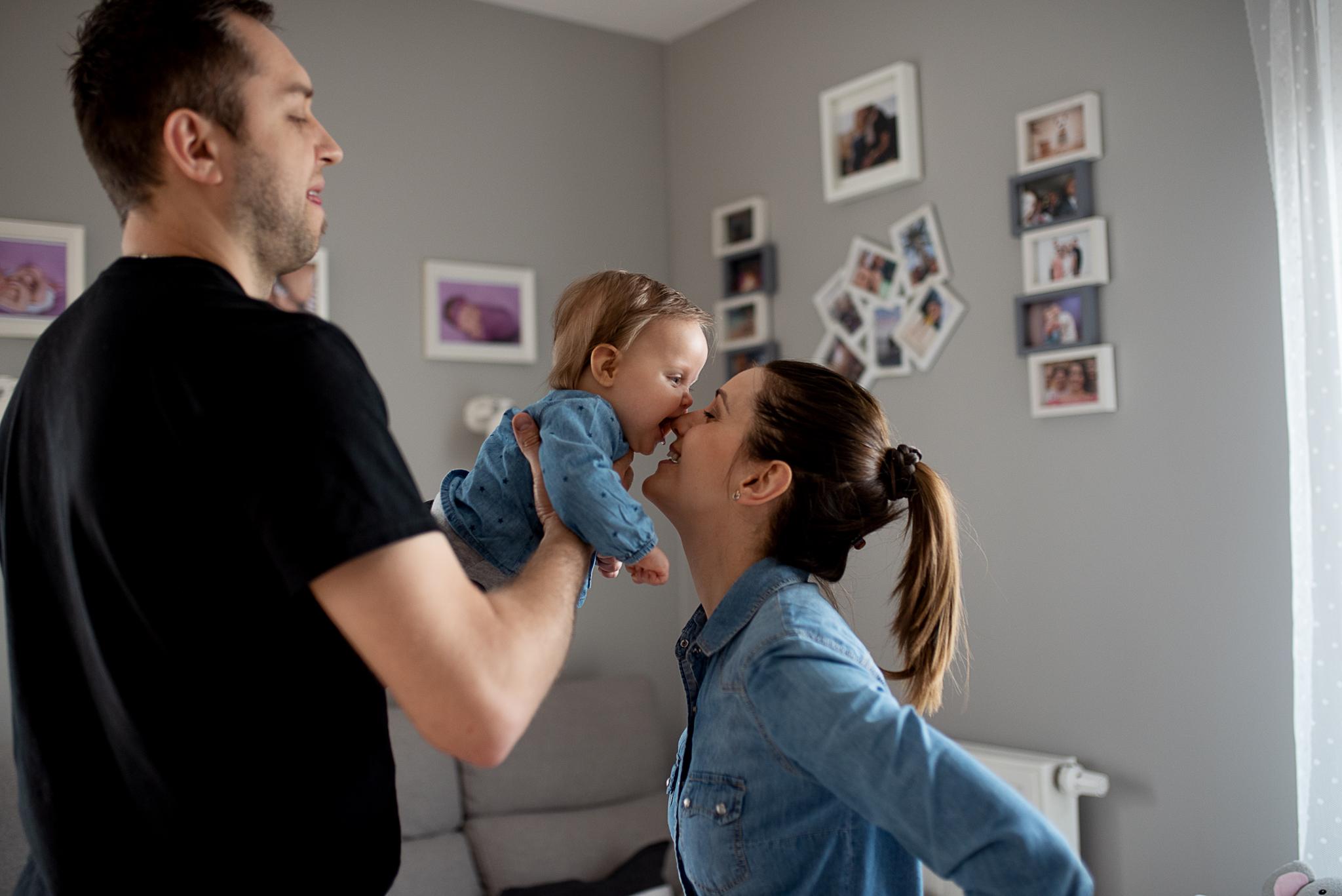 buziak dla mamy od córeczki
