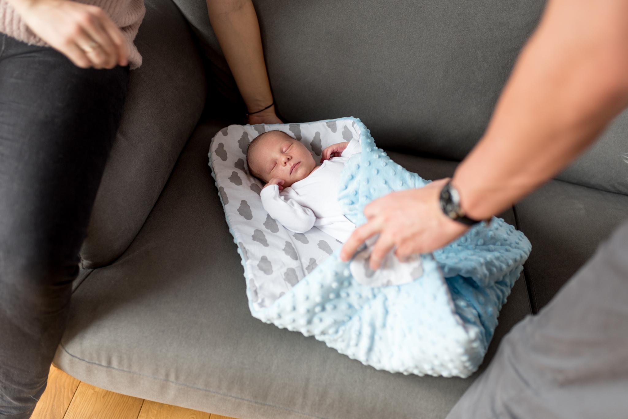 rożek dla niemowlaka