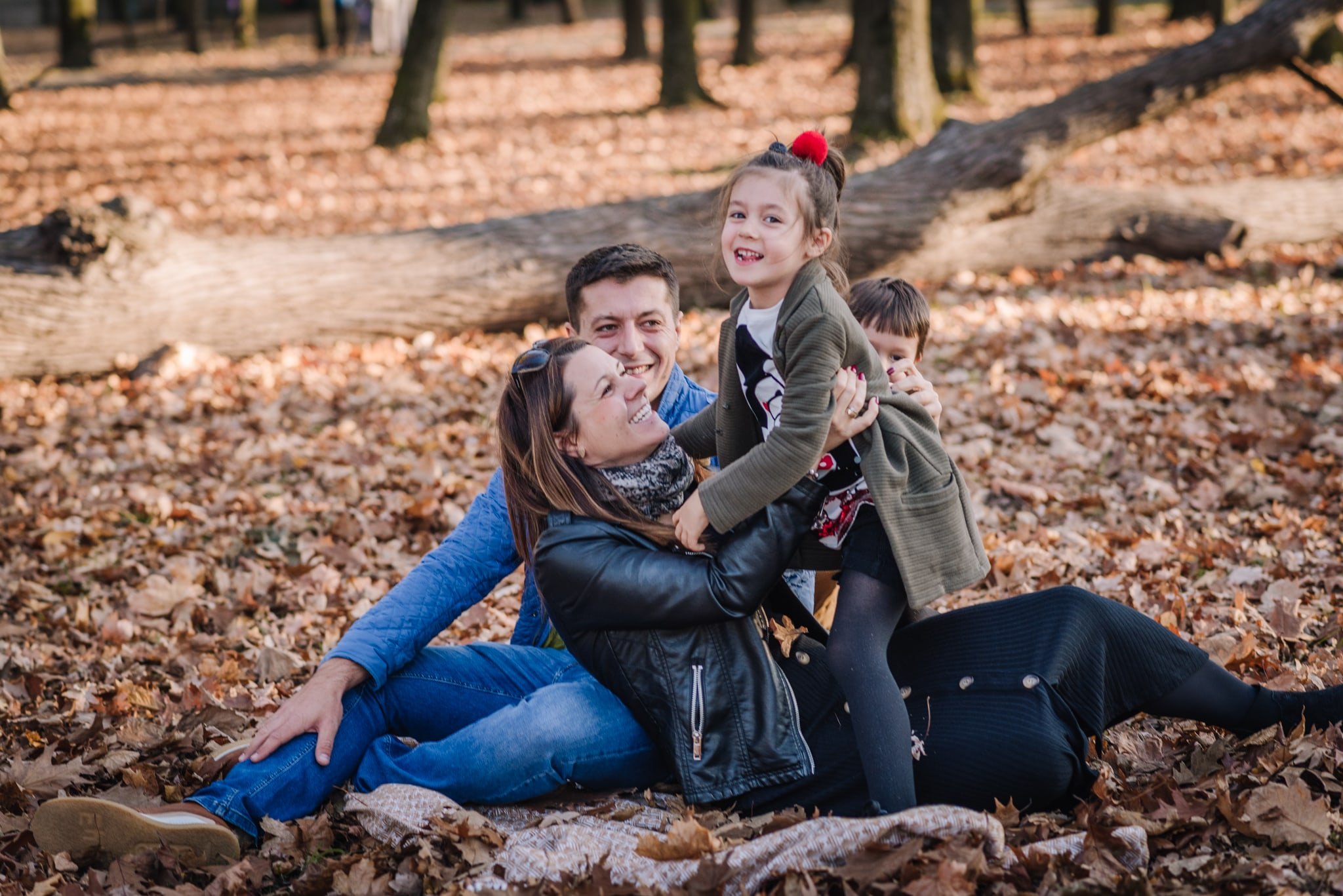 zabawy rodzinne w parku