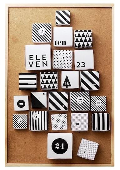kalendarz adwentowy pudełeczka