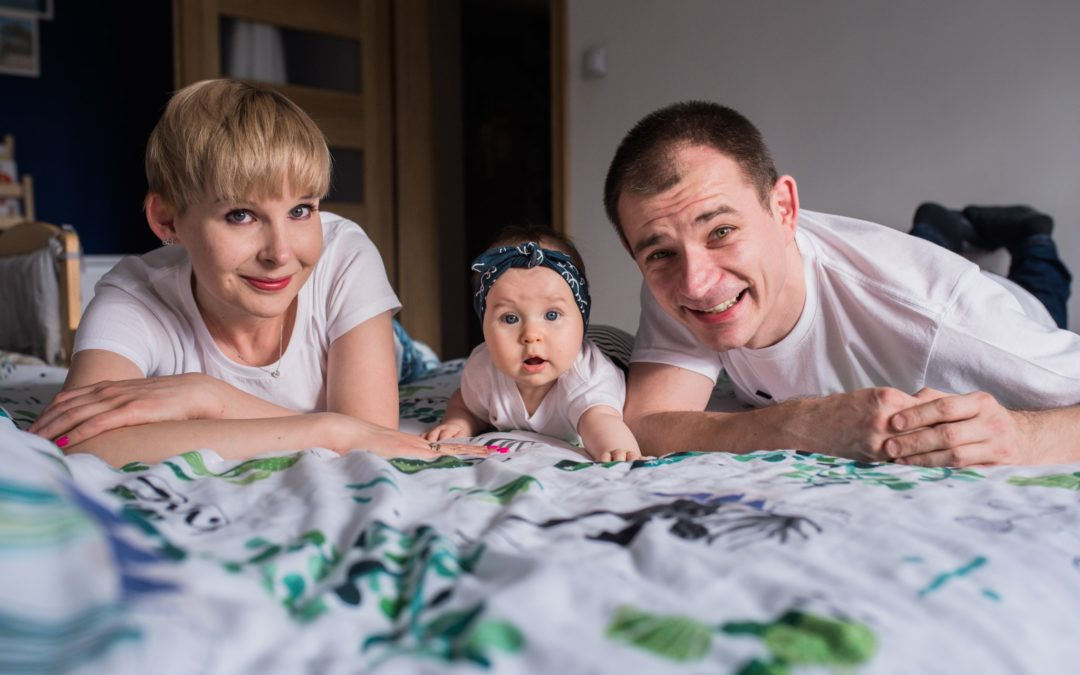 Sesja dziecięca w domu – Kraków