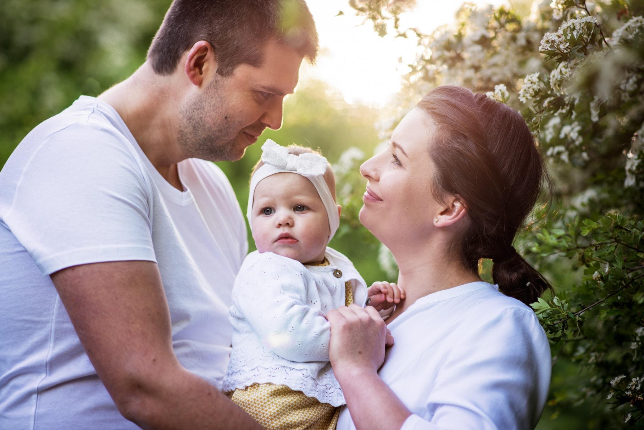 zakochani rodzice
