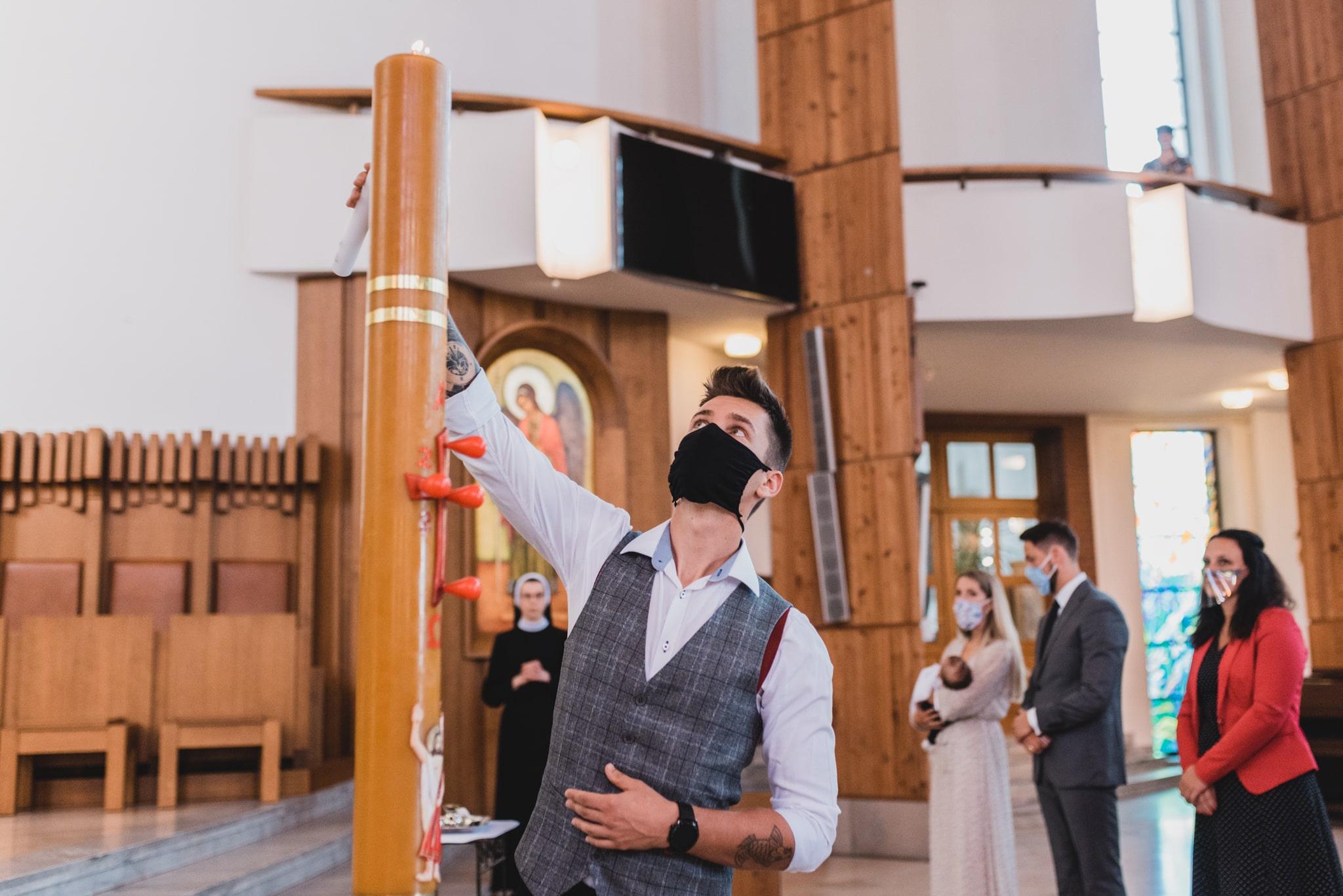 chrzest w krakowie
